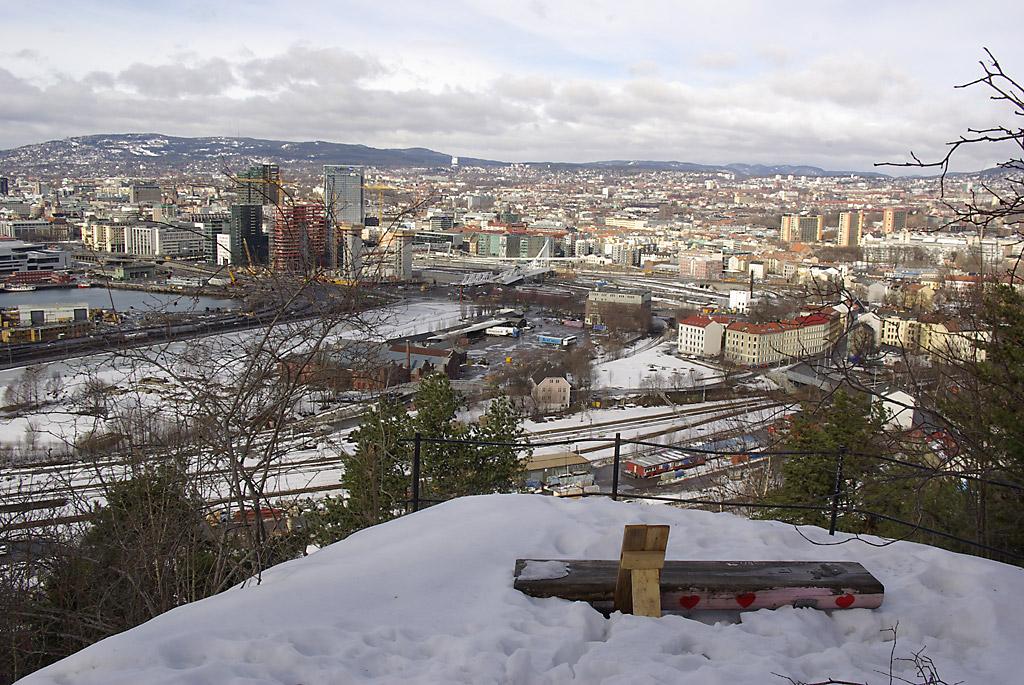Utsiktsplass 3 vinterstid
