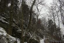 Kjærlighetsstien vinter